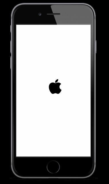 iPhone stuck on